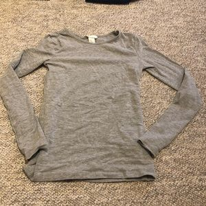 H&M brand basic grey shirt